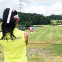 yuca__chanのラウンドレポート★台風接近の強風雨でもベスグロ更新!?