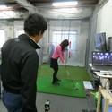 渋谷駅西口2分のゴルフスクールIGLスタジオ渋谷で体験レッスン