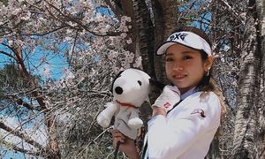 nayu_chanのラウンドレポート★桜が綺麗に見えるラウンド!の巻