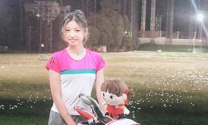 nayu_chanのゴルフ練習方法を紹介します!打ちっ放し編