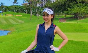 mi-miのラウンドレポート★ハワイ「てんとう虫の伝説」の名門コースでプレー