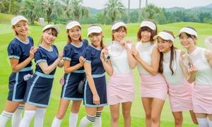 可愛すぎる♥J.JANE主催の第一回4つ子コーデゴルフコンペ開催報告!
